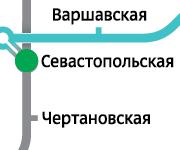Севастопольская 2-ком 37000