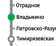 Хостел в шаговой доступности от метро Владыкино, Отрадное, Окружная