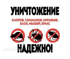 ДЕЗИНФЕКЦИЯ,КЛОП ТАРАКАН ЖОК КЫЛАМ! 100%ГАРАНЯ